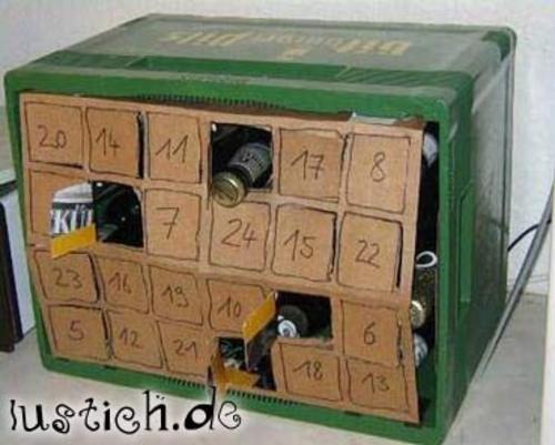 Bier Adventskalender Bild