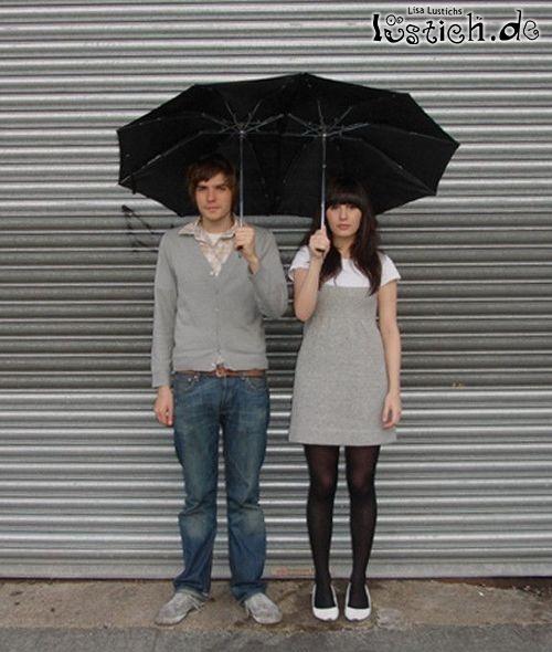 Regenschirm für Paare