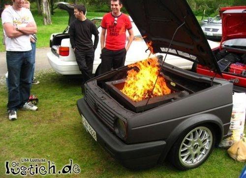 Classic Car Bbq Grills