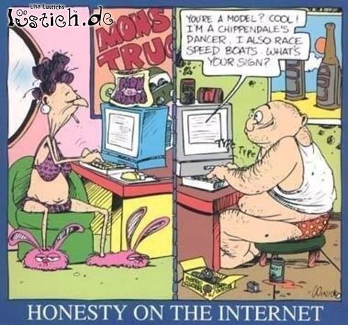 Ehrlichkeit im Internet