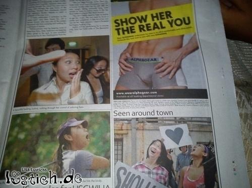 Gut platzierte Werbung