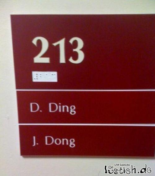 Ding und Dong
