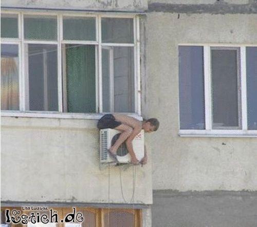 Auf Der Klimaanlage Bild Lustich De