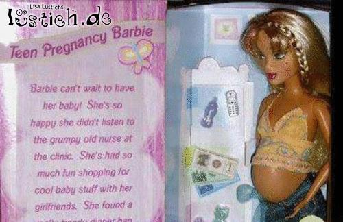 schwangerschafts barbie