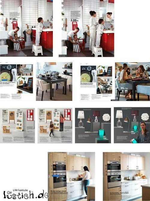 saudi arabischer ikea katalog bild. Black Bedroom Furniture Sets. Home Design Ideas