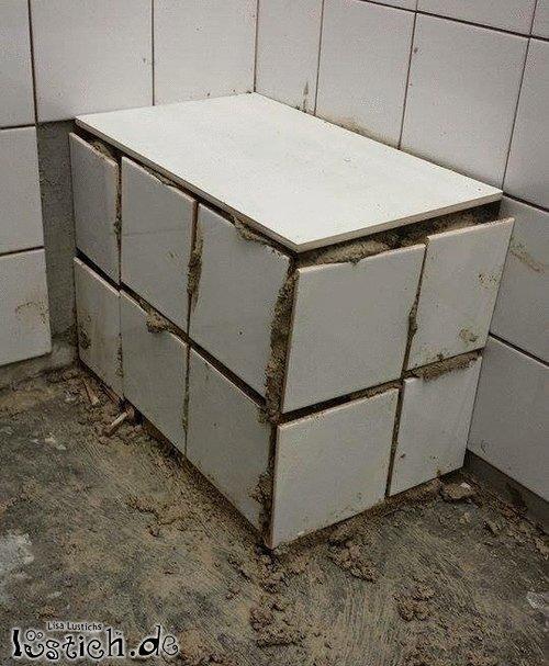 fliesen legen bild. Black Bedroom Furniture Sets. Home Design Ideas