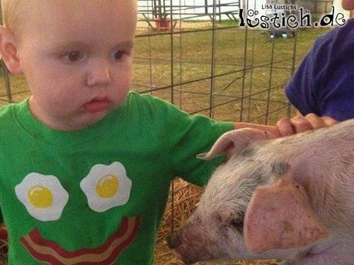 Leckeres Schweinchen
