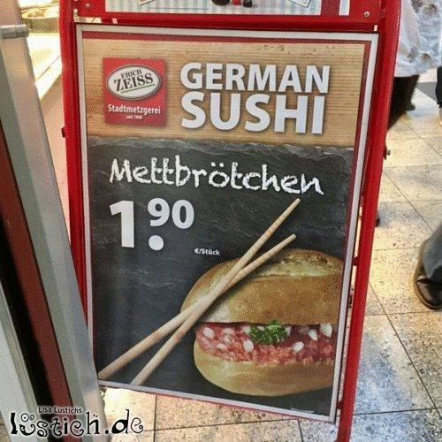 Deutsches Sushi