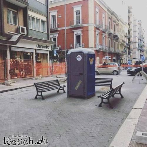 Beliebte Toilette