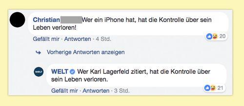 Zitate von Karl Lagerfeld