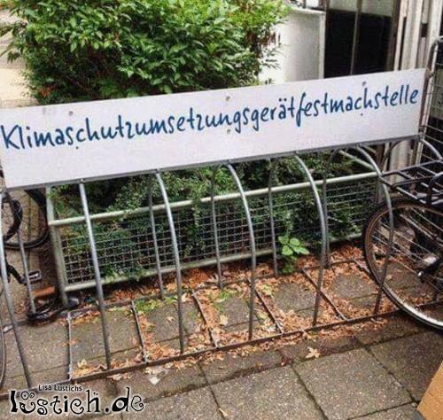 Klimaschutzumsetzungsgerätfestmachstelle