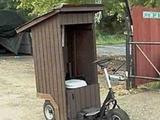Fahrradtoilettenhaus