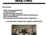 Zeit für ein Meeting