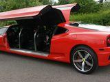 Gestretchter Ferrari