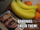 Ich brauche Bananen