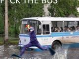 Scheiß auf den Bus