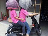 Richtiger Helm