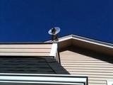 Neue Satellitenschüssel