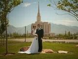 Merkwürdiges Hochzeitsfoto