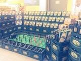 Bieraufstellung