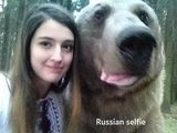 Russisches Selfie