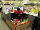 Geburtstag im Büro