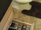 Schublade im Badezimmer
