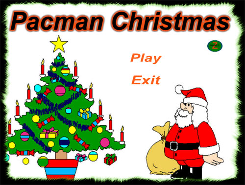 weihnachts pacman download. Black Bedroom Furniture Sets. Home Design Ideas