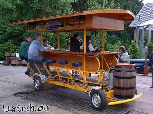 Bierbus Bild Lustich De