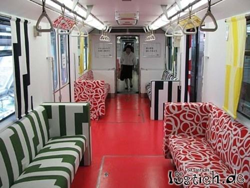 Gemütlicher Bus