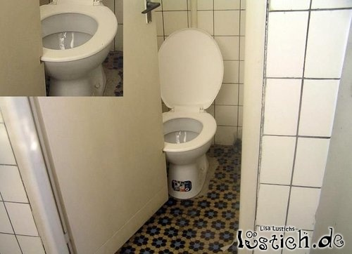 Maya wird gefickt in einen WC-Raum