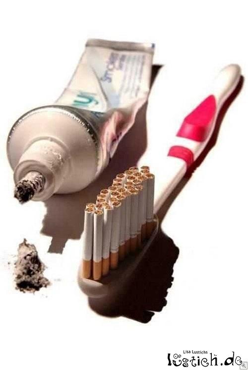 das zahnpflegeset f r den raucher bild. Black Bedroom Furniture Sets. Home Design Ideas