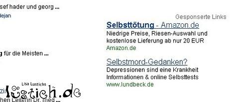 Selbsttötung Amazon Bild Lustichde