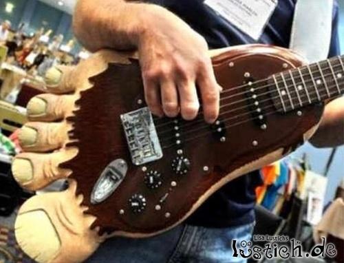 Fußgitarre