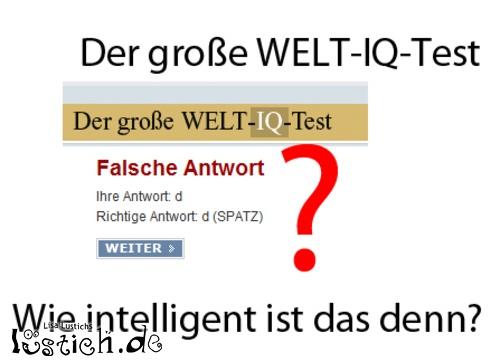 Nicht sehr intelligent