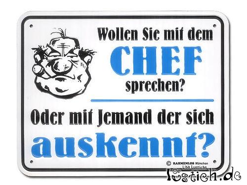 Wollen Sie mit dem Chef sprechen? Bild - lustich.de