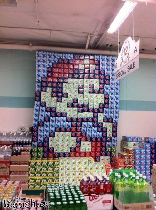 Super Markt Mario Bild Lustich De