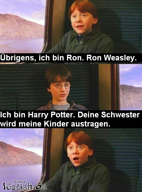 Daniel Radcliffe And Rupert Grint Ronald Weasley lernt H...