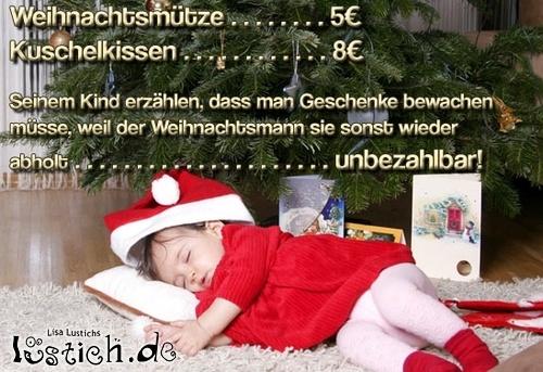 Weihnachten unbezahlbar