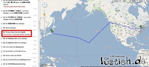 Mit dem Kajak über den Pazifik