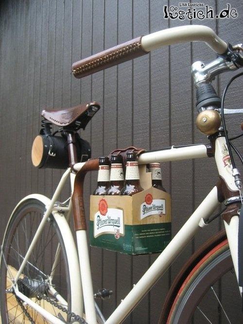 bier fahrrad bild. Black Bedroom Furniture Sets. Home Design Ideas
