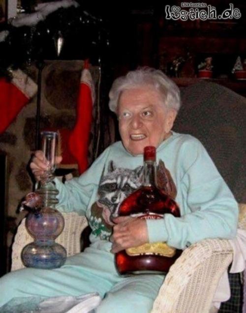 Oma ü50 Hat Spaß