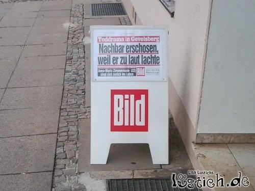 Rechtschreibfehler bei Bild Bild - lustich.de