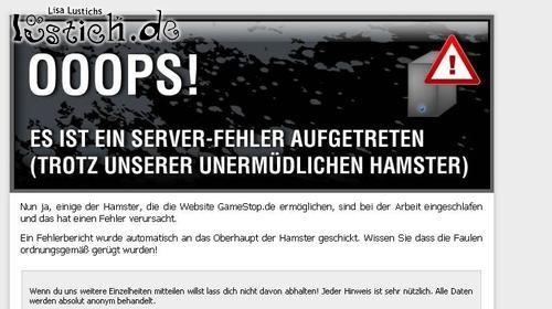 Hamster im Server