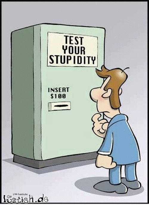 Teste deine Dummheit