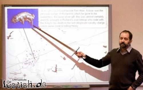 Unterrichten wie ein Ritter