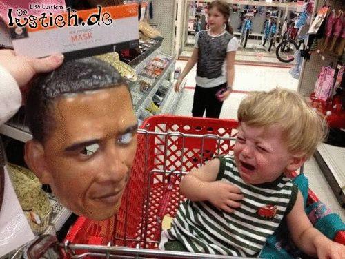 Obamas Gesicht