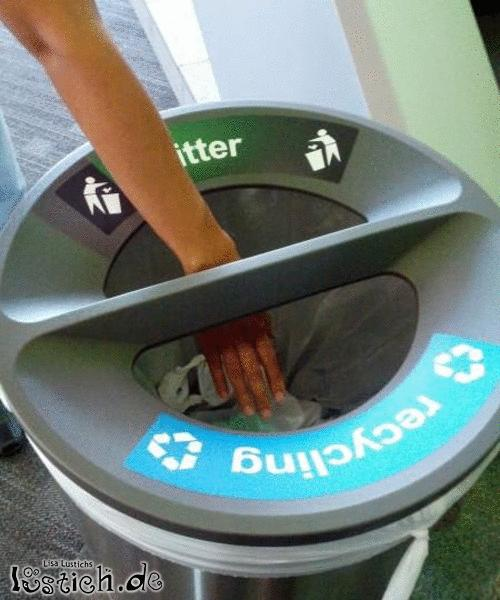 Sinnvolle Mülltrennung