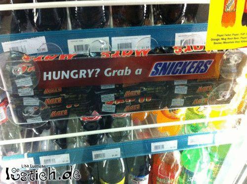 Nimm dir ein Snickers