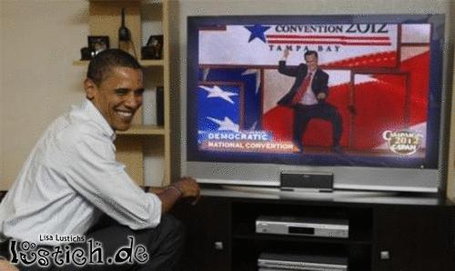 Obama hat gut lachen